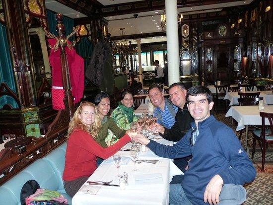 Vagenende Brasserie: Almoço no Vagenende