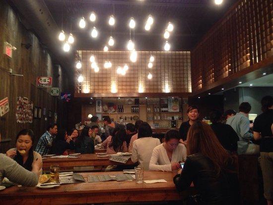 Kinka Izakaya Original: Inside