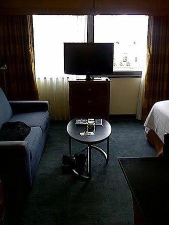 Residence Inn New York Manhattan/Times Square : Living room