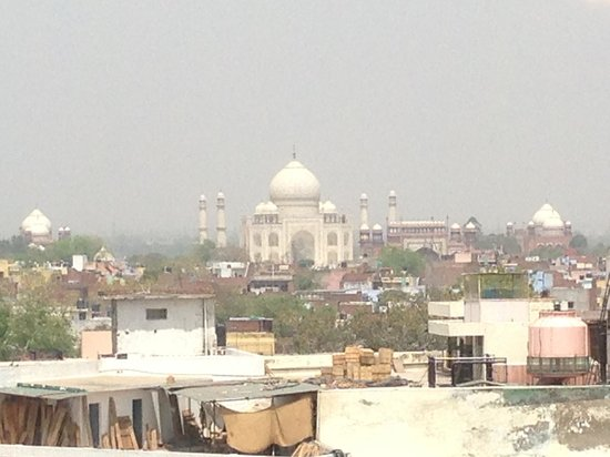 The Gateway Hotel, Agra: View from the room