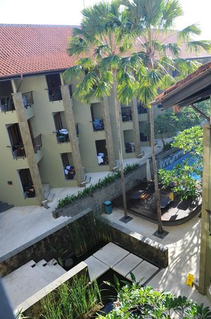 All Seasons Legian Bali: View from our room