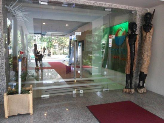 Hotel Terminus : Entrance