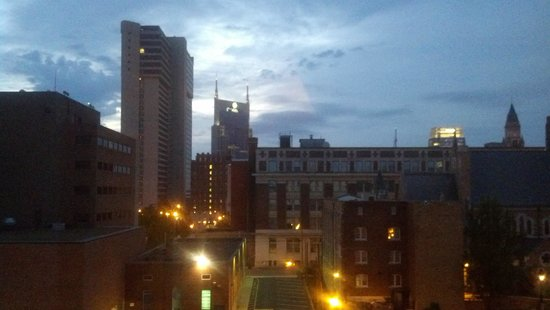 Holiday Inn Express Nashville Downtown: view from 6th floor