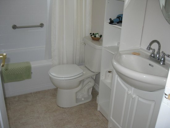 Pam's Bed and Breakfast : Guest bathroom