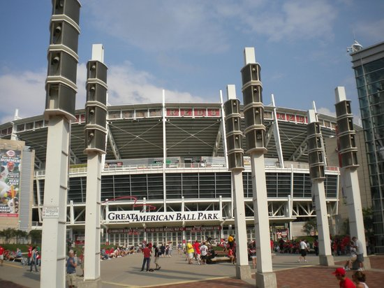 Great American Ball Park: Front