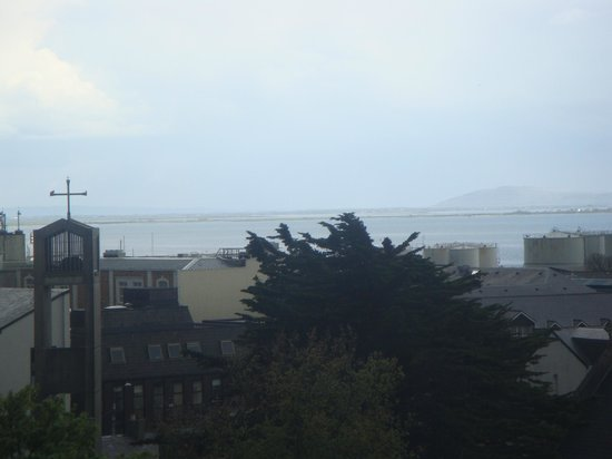 The Western Hotel: View of the bay from my room
