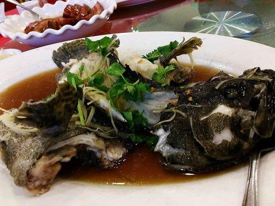 Old Man Restaurant: 清蒸老虎斑