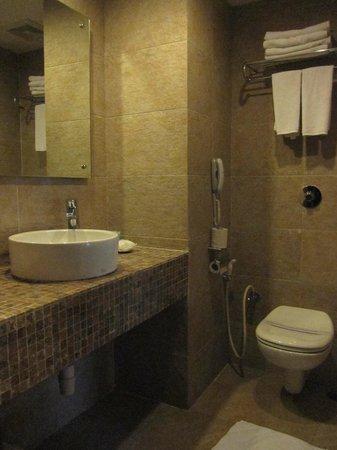 Temple Tree Resort & Spa: Modern bathroom