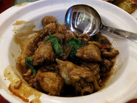 Old Man Restaurant: don't know what chicken, but yummy!!