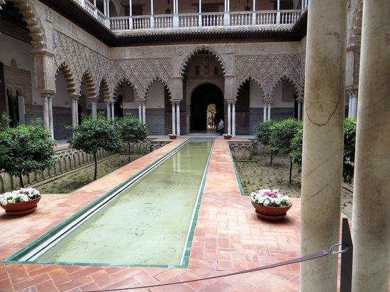 Alcázar: courtyard