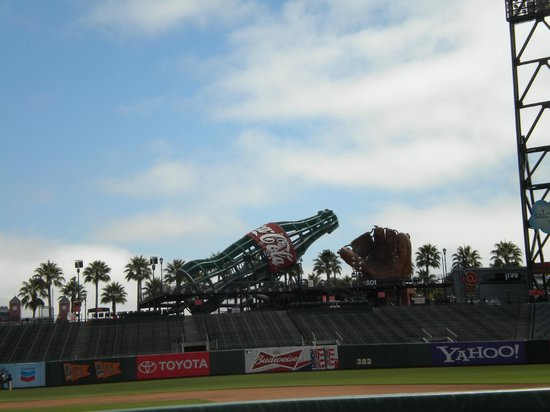 AT&T Park : outfield