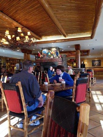 Hampton Inn Kayenta : Sala colazione e ristorante