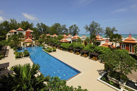 Bang Tao Beach, Thailand: Main Swimming Pool