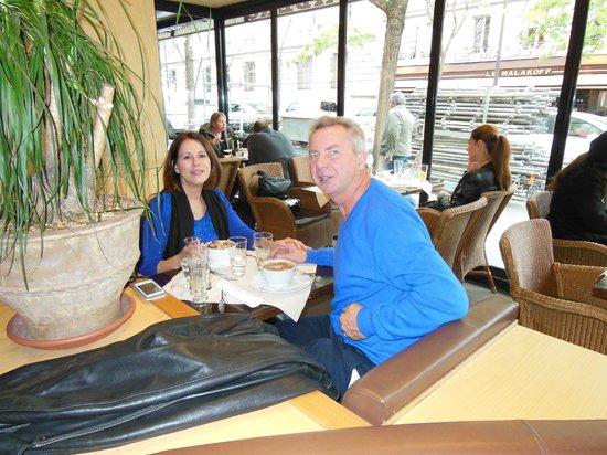 Paris Marriott Champs Elysees Hotel: dining in Paris