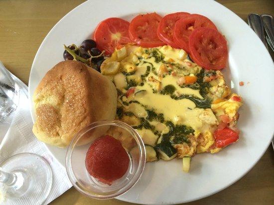 The Cottage La Jolla: Vegetable Frittata