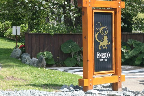 Mill Bay, Canada: Entrance to Winery