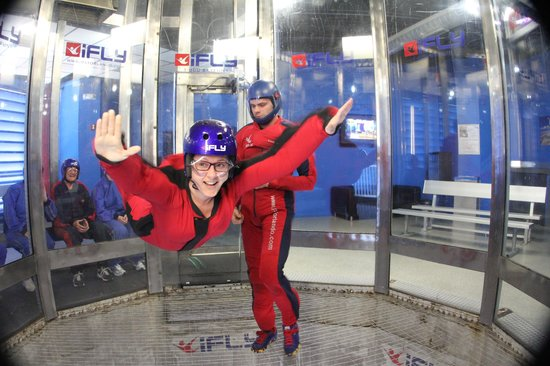 iFLY Orlando : My flight