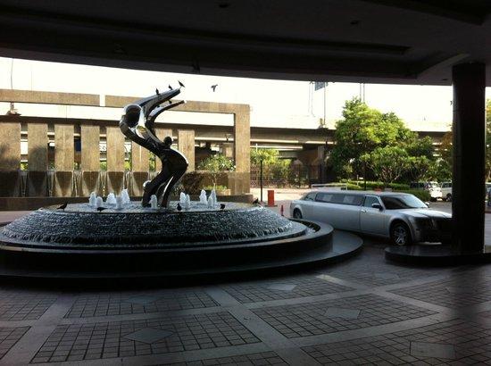 Radisson Blu Plaza Delhi Airport: Entrance
