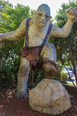 The Weta Cave : Trolls in the garden