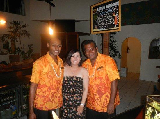 Bedarra Beach Inn: Same blokes