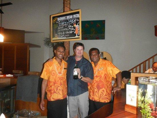 Bedarra Beach Inn: Top blokes