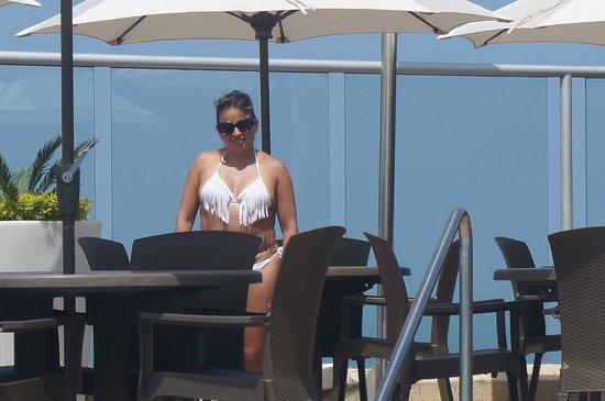 Hotel Capilla del Mar : espectacular la vista