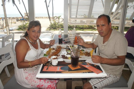 Hotel Capilla del Mar : muy rica la comida