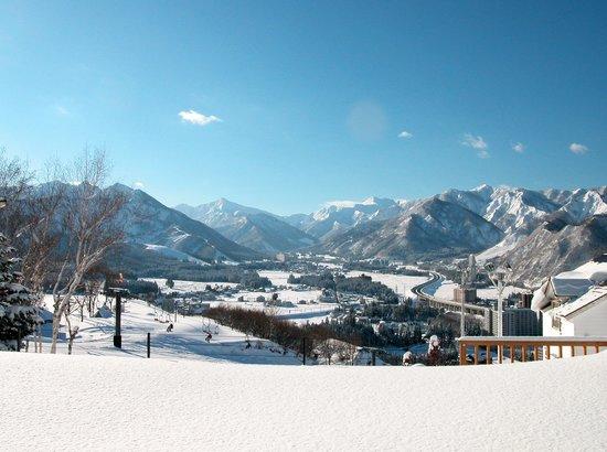 Hotel Sierra Resort Yuzawa : View from Lobby