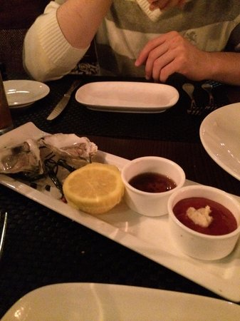 Chapel Grille: Oysters