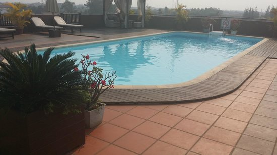 City River Hotel : Must enjoy the pool