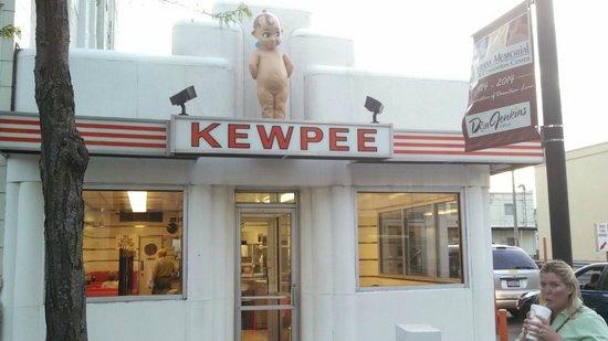 Kewpee Hamburgers: Outside of restaurant