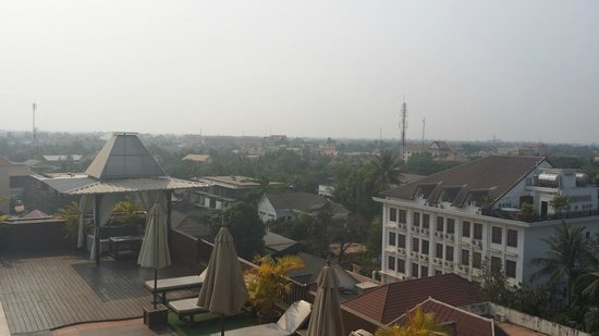 City River Hotel : View from rooftop