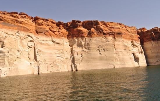 boat tour arranged by lake powell resort, fabulous !!!!