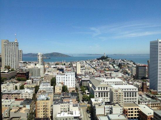 Grand Hyatt San Francisco : Club Room view