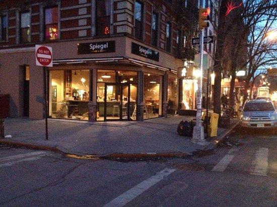 Photo of Mediterranean Restaurant Spiegel at 26 1st Avenue, New York City, NY 10009, United States