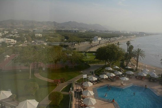 Crowne Plaza Muscat: View from room