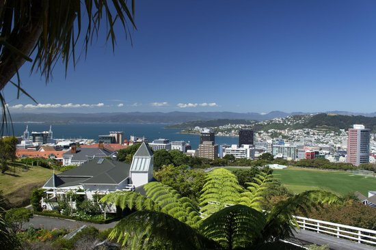 The Wellington cable car offers great panoramic views across Wellington