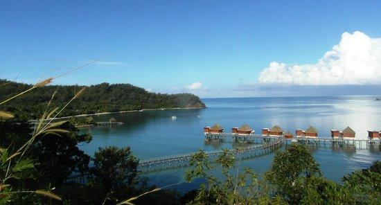 Likuliku Lagoon Resort: what view