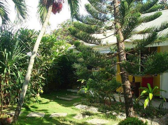 Baluarte de Argao Beach Resort: garden