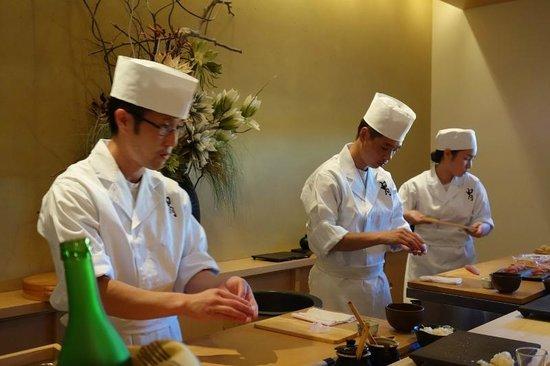 Kabuto: sushi chef