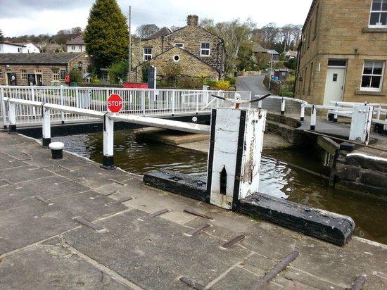 Bingley Five Rise Locks: Five Rise