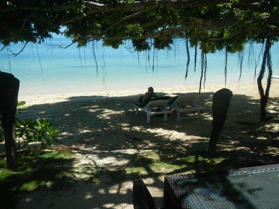 Lomani Island Resort: The spot