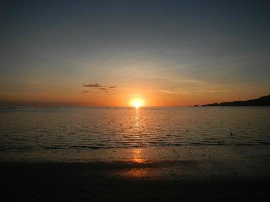 Lomani Island Resort: best sunset