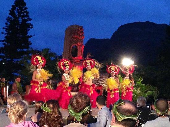 Chief's Luau at Sea Life Park : The women of Tahiti