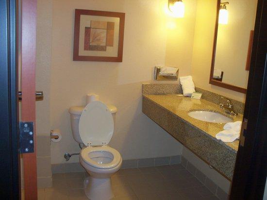 Comfort Suites Mabank : Bathroom