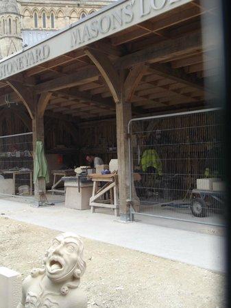 Cathédrale d'York : The Stonemasons Yard