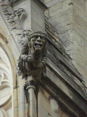 York Minster: An old figure