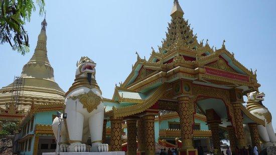 Global Vipassana Pagoda: Enterence of GVP