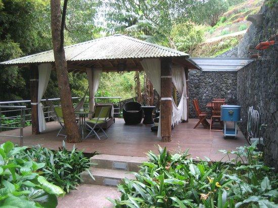 Quinta da Mo: Outdoor eating and relaxing area
