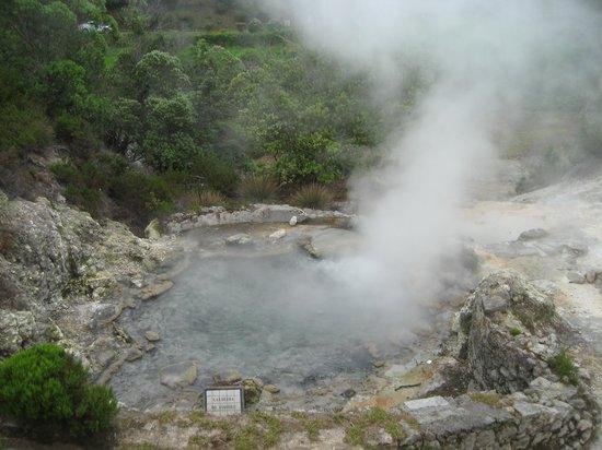Quinta da Mo: Volcano center about a 20 minute walk
